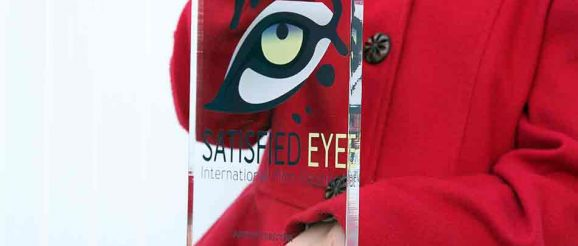 SATISFIED EYE International Film Festival 2018 trophy